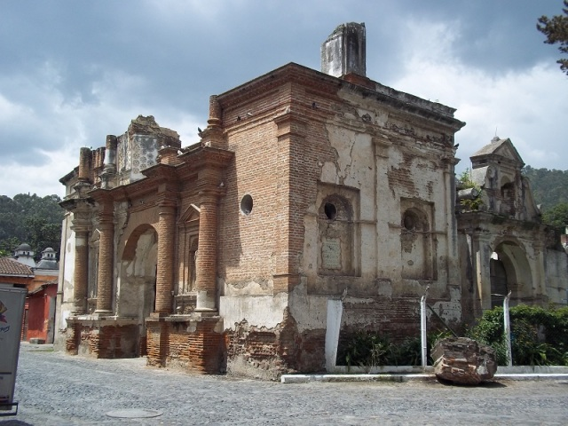 Guatemala Tourism Antigua Church Ruin